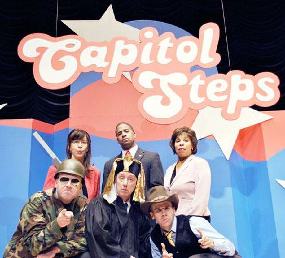 SUBMITTED PHOTO The Capitol Steps will perform at the Palace Theater in Hamilton on Saturday, Nov. 19 at 8 p.m.