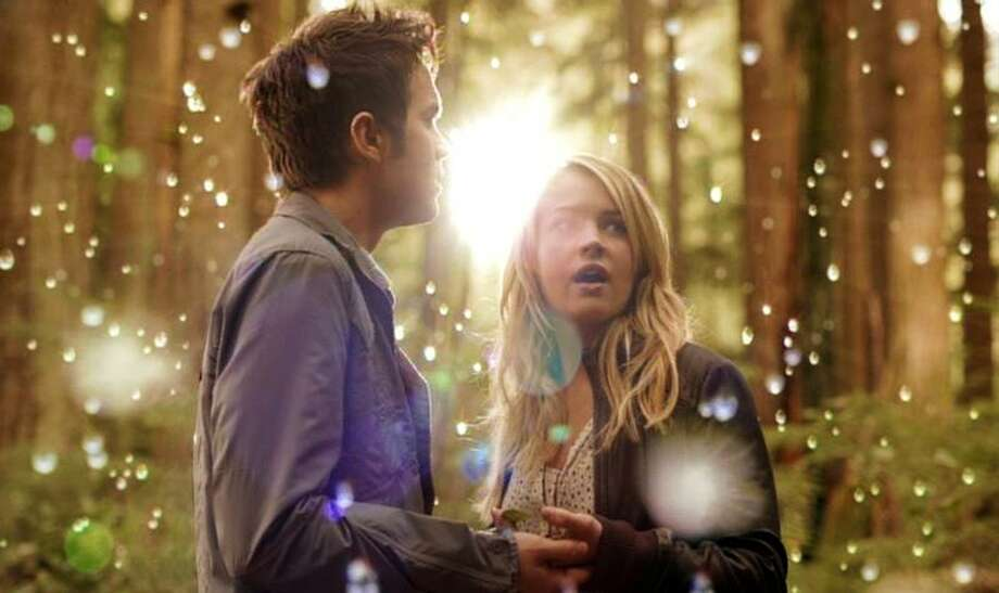 """Britt Robertson/The CW photo: Thomas Dekker as Adam and Britt Robertson as Cassie in """"The Secret Circle,"""" which debuts at 9 tonight on The CW."""