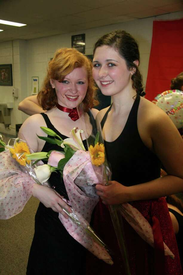 Kelsey, left, and Morgan Campbell.
