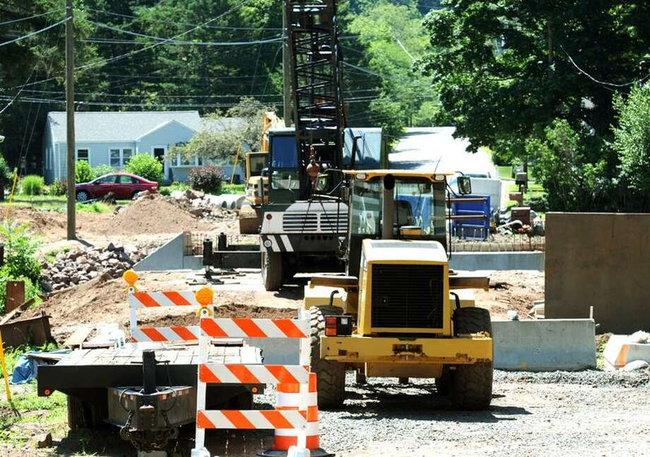 As work continues on the Maple Street bridge in East Haven, some are concerned that the detours may have hampered emergency responders on their way to nearby athletic fields to aid injured athletes. Mara Lavitt/Register