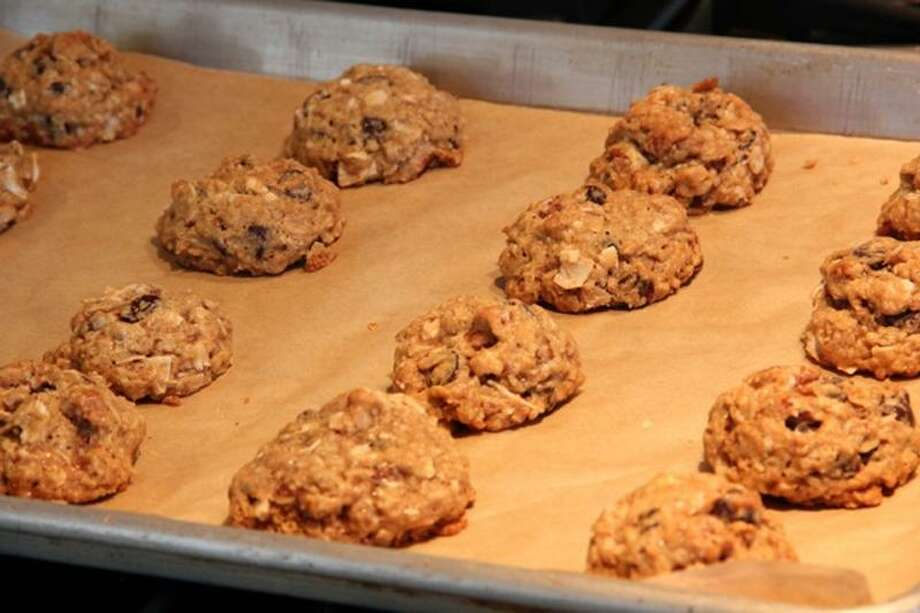 Kathleen King photo: Hurricane Irene Cookies were born out of necessity to use up ingredients before the power went out at Tate's Bake Shop in the Hamptons.