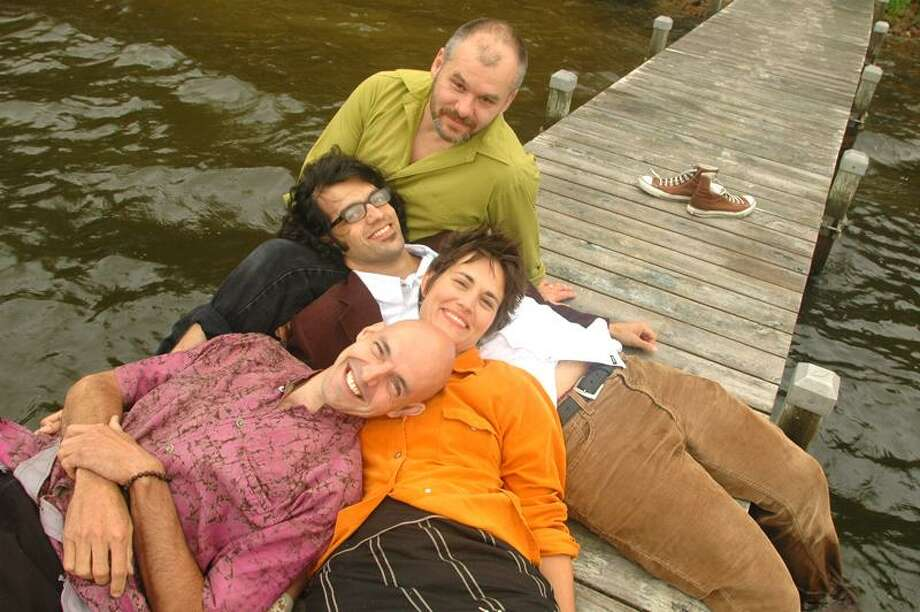 Rani Arbo leads her merry Daisy Mayhew band of fine musicians into Branford this weekend.
