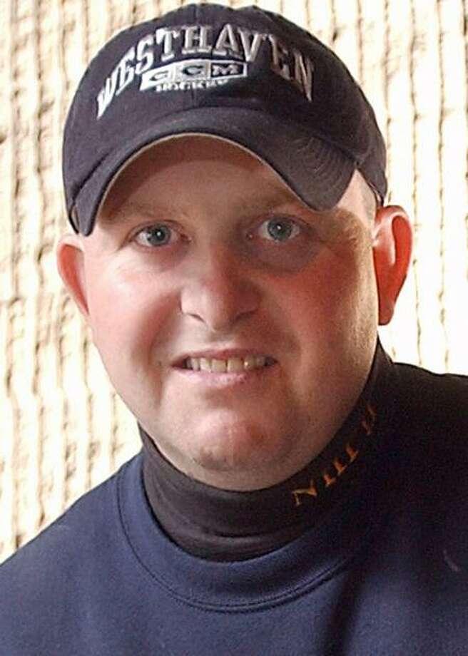 New Haven police Officer Robert Fumiatti in 2003. Register file photo