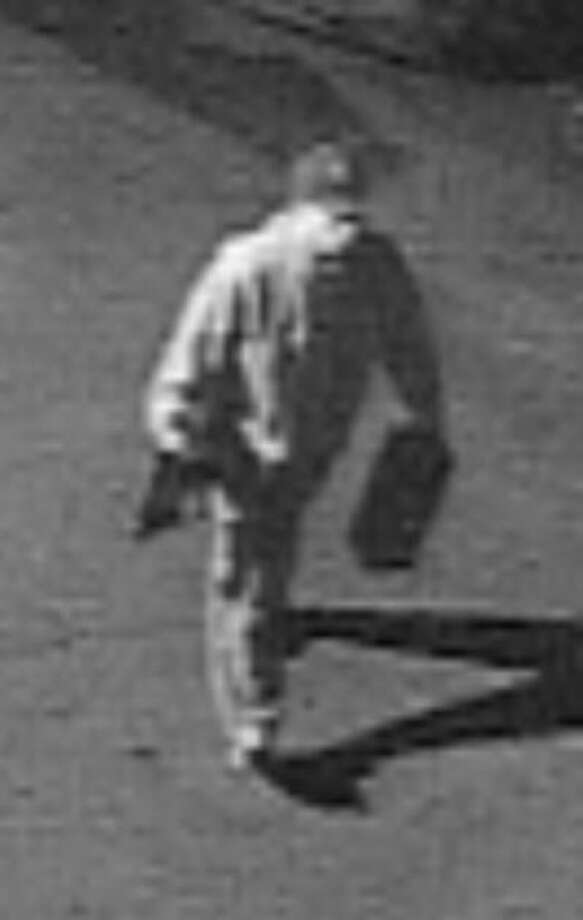 Surveillance photo of suspect.