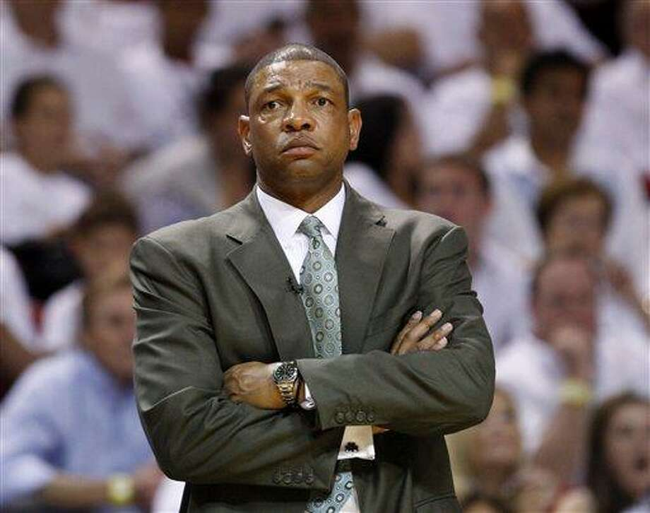 Boston Celtics' coach Doc Rivers agreed to a five-year contract extension with the team on Friday. Photo: ASSOCIATED PRESS / AP2011