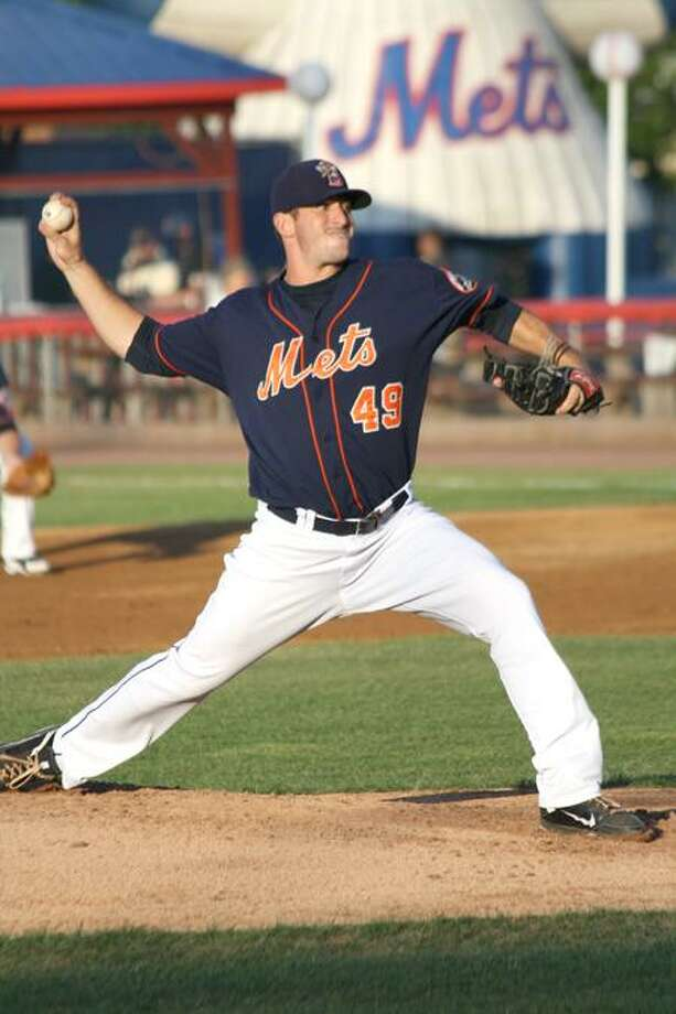 Fitch-Groton graduate Matt Harvey was recently promoted to the Double-A Binghamton Mets. (Photo courtesy of Binghamton Mets)