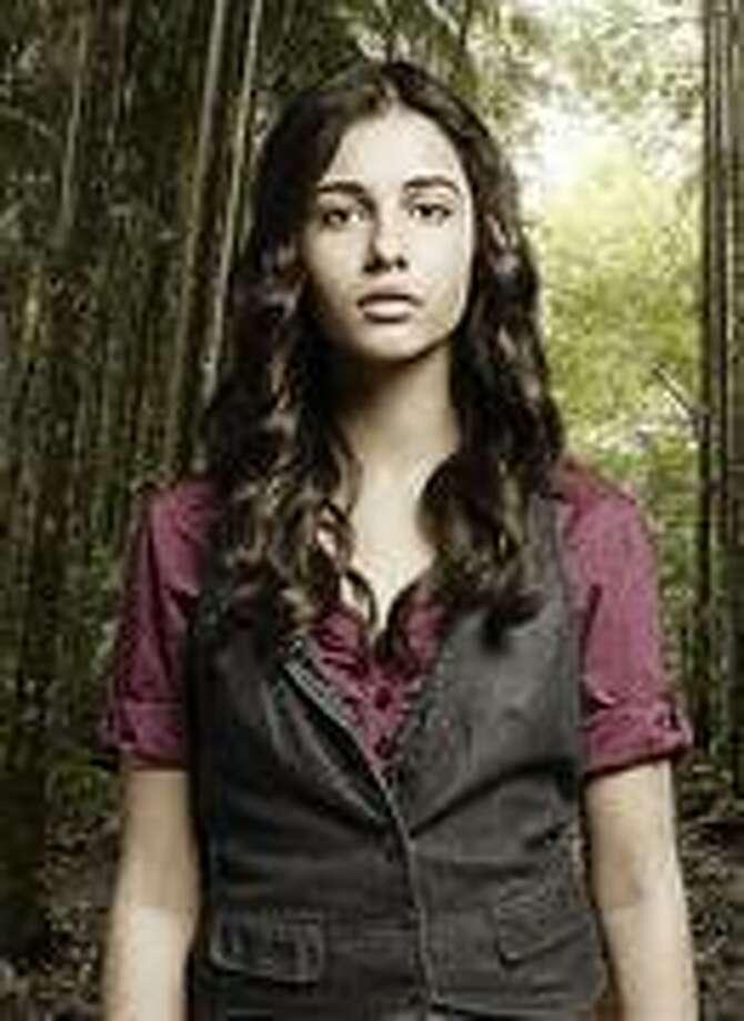 "Naomi Scott as Maddy in ""Terra Nova"" on Fox."
