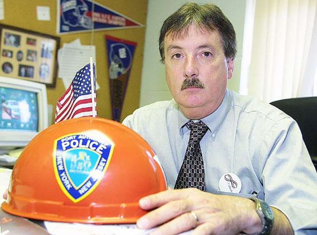 Photo by JOHN HAEGER (Twitter.com/OneidaPhoto) Former Madison County Undersheriff Doug Baily, who was part of the National Disaster Mortuary Operational Response Team following the Sept. 11 terrorist attacks.