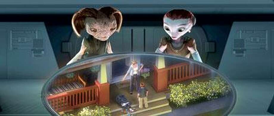 """Disney photo: Our best mothers are being scooped off the planet in """"Mars Needs Moms."""""""