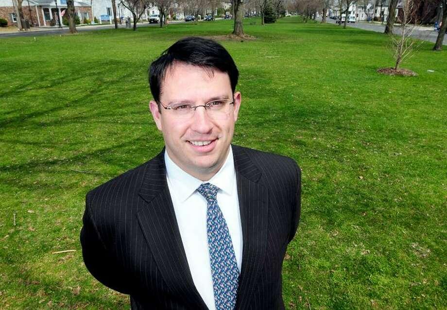 Milford Democratic mayoral candidate Ben Blake