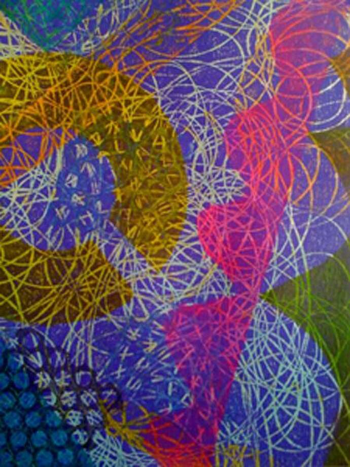"This work by Mell Boesch is one of more than 150 works up for the taking. Check them out online at <a href=""http://www.newhavenarts.org"">www.newhavenarts.org</a>."