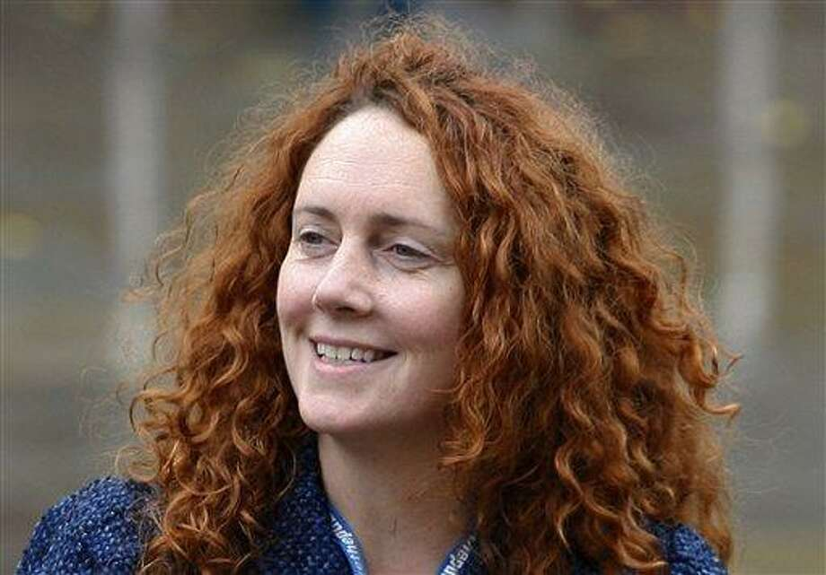 Rebekah Brooks, chief executive of News International, which publishes the News of the World tabloid, arrives at the 2009 Conservative Party Conference in Manchester, England. Brooks said in an email that she had no knowledge of the alleged phone hacking and that she would not resign. (AP File Photo) Photo: AP / AP
