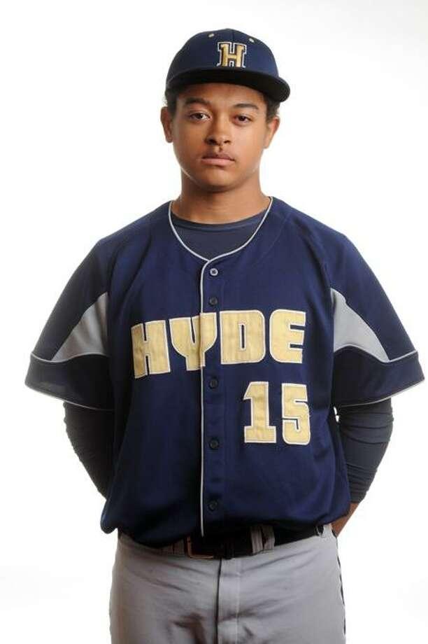 MALE ATHLETE OF WEEK: Will Nieves Hyde baseball. VM Williams/Register