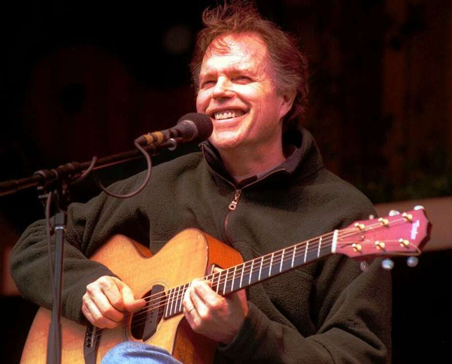 Guitarist Leo Kottke performs at the Telluride Bluegrass Festival Thursday, June 17, 1999. The Guitar Magazine Hall of Fame musician plays 6- and 12-string guitars and has performed widely throughout his 30-year-plus career. (AP Photo/Mickey Krakowski) Photo: ASSOCIATED PRESS / AP1999