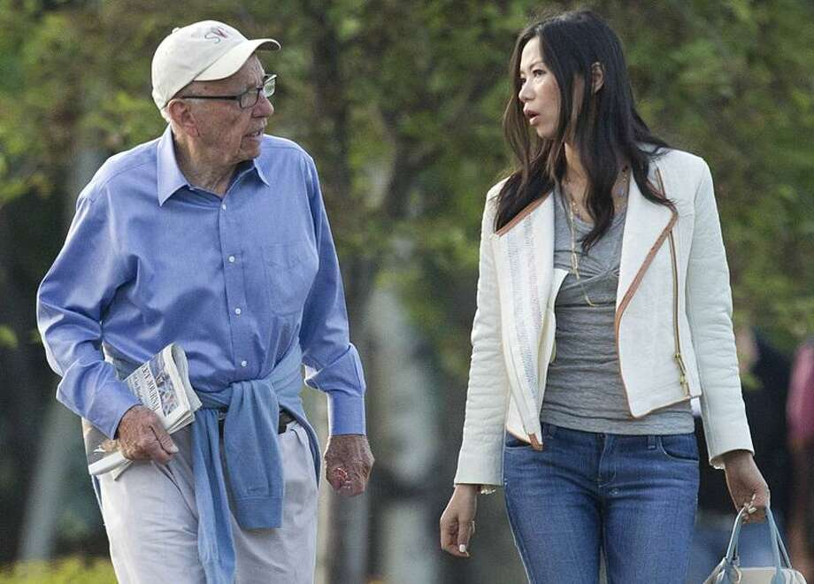 Rupert Murdoch and his wife, Wendi Murdoch, arrive for a conference in Sun Valley, Idaho, Thursday. Associated Press Photo: AP / AP