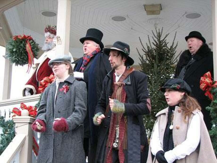 "Submitted Photo A daily Christmas carol sing-along is one part of ""Dickens Christmas,"" which runs every weekend in Skaneateles."