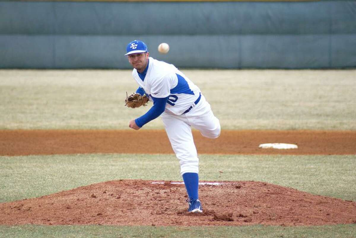 Southern Connecticut State pitcher Chris Zbin. (Contributed photo)