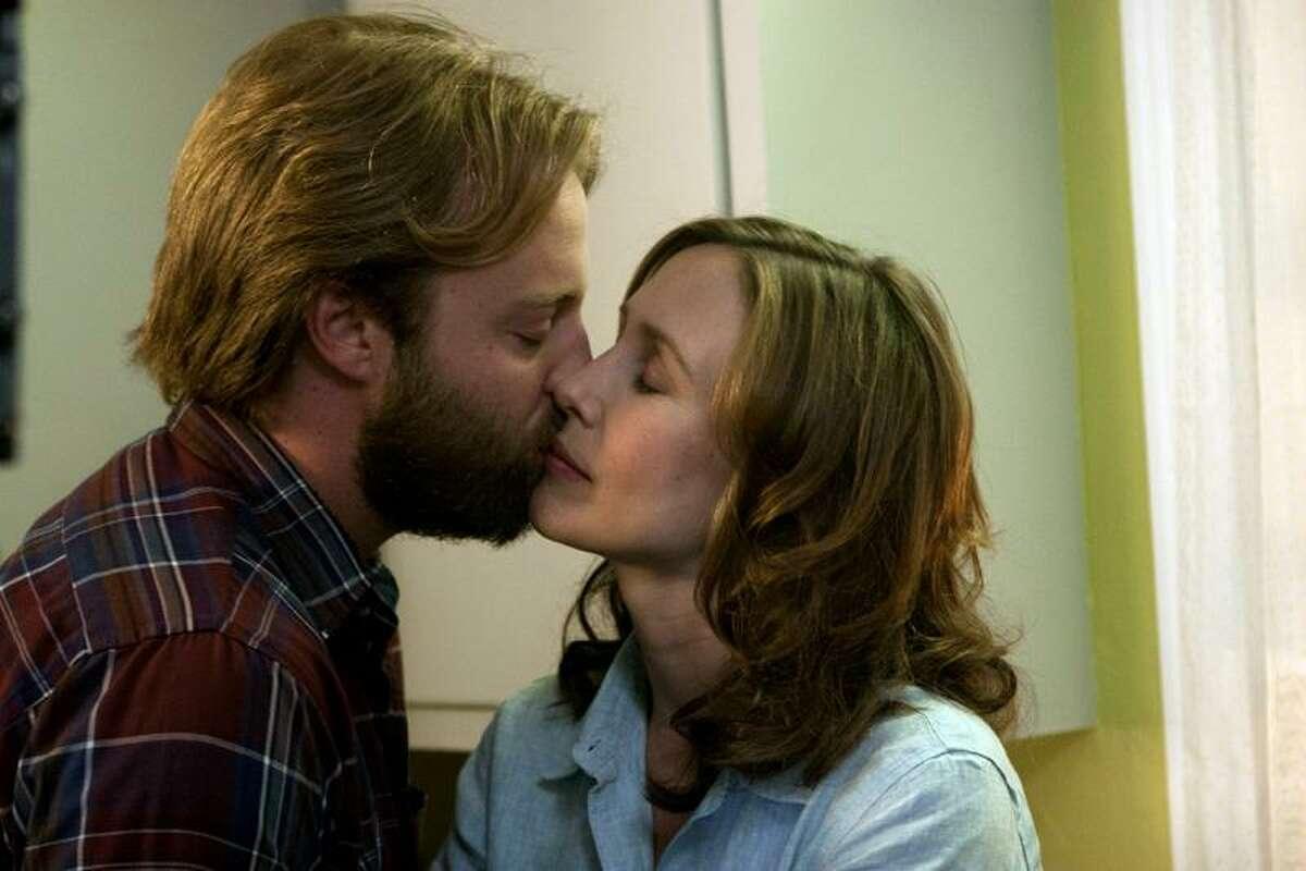 Molly Hawkey/Sony Pictures Classics photo: Joshua Leonard as Ethan Miller and Vera Farmiga as Corinne Walker in