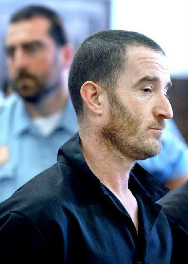 Michael Chaves, arrested for the killing of Dale Lynn Anderson at a Branford truck stop last year, is arraigned at Superior Court in New Haven in May 2010. Photo by Arnold Gold