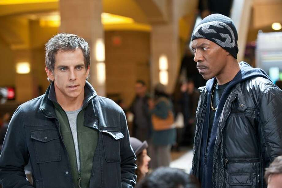 "Ben Stiller and Eddie Murphy make the one-liners pop in comedy ""Tower Heist,"" opening today. / Copyright: © 2011 Universal Studios. ALL RIGHTS RESERVED."