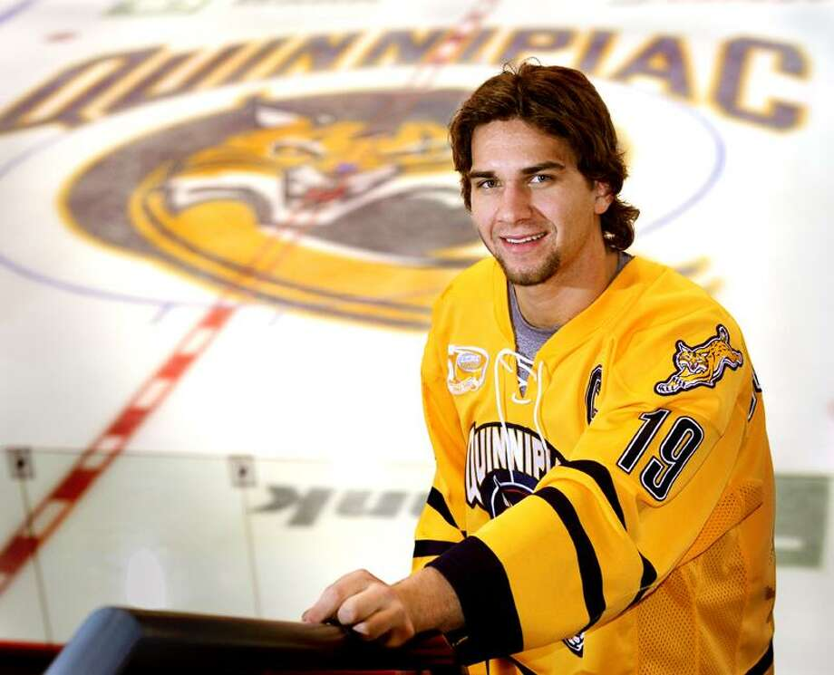 Quinnipiac captain Scott Zurevinsky. (Melanie Stengel/Register file photo)
