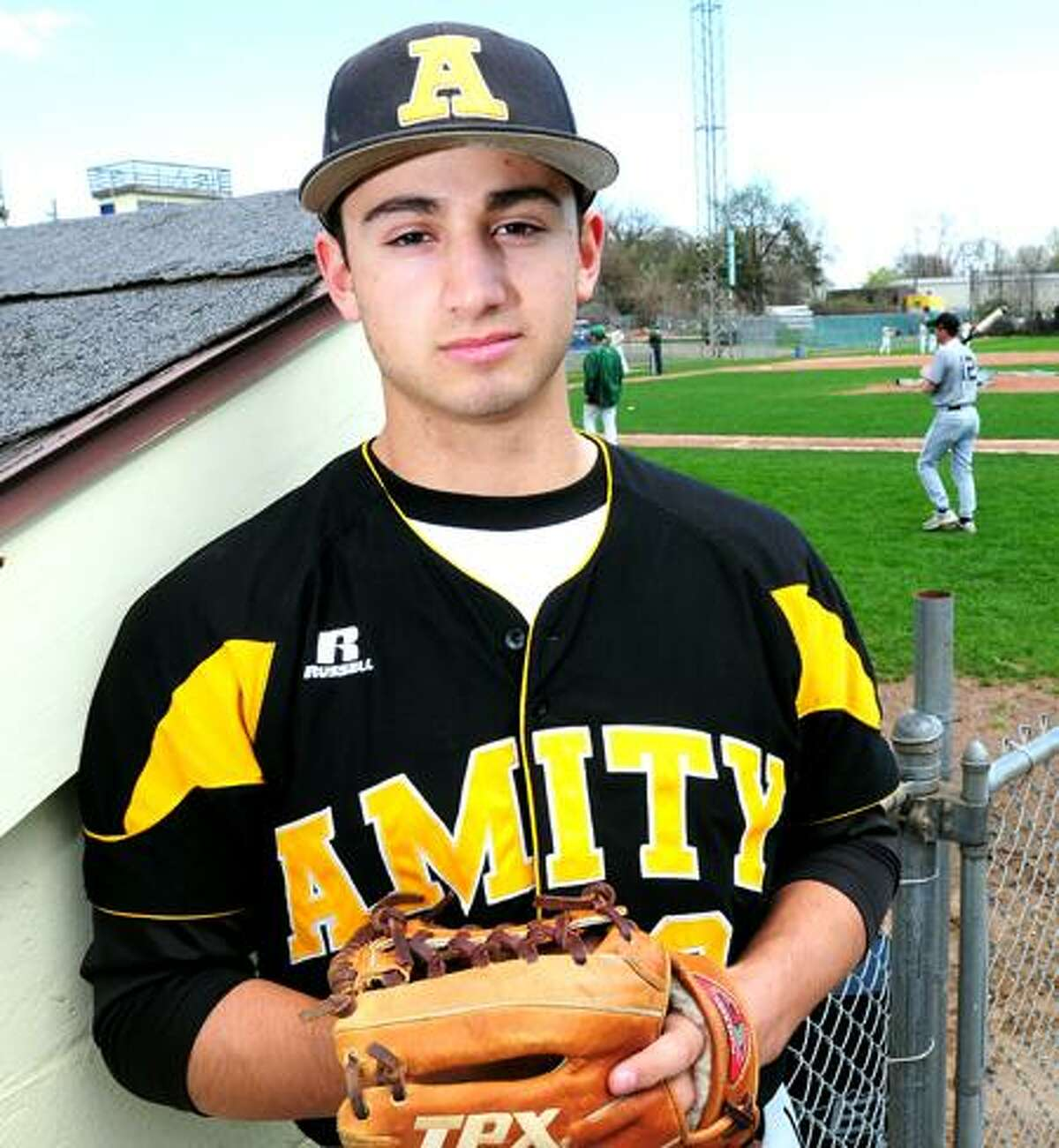 Amity's Vin Siena is one of the rising stars in the state. Arnold Gold/New Haven Register