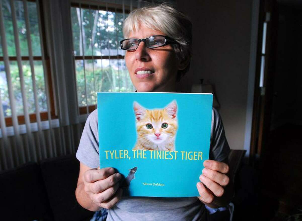 Arnold Gold/Register photo: Alison DeMaio stumbled upon the story of Tyler while going through papers belonging to her late mom, Margo DeMaio.