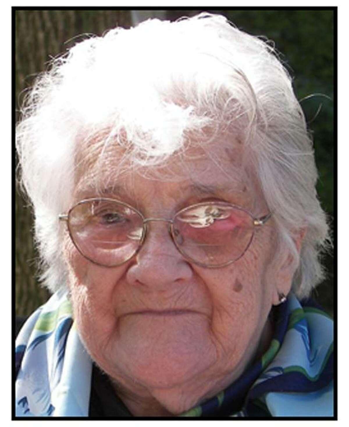 Flora Burke of East Haven