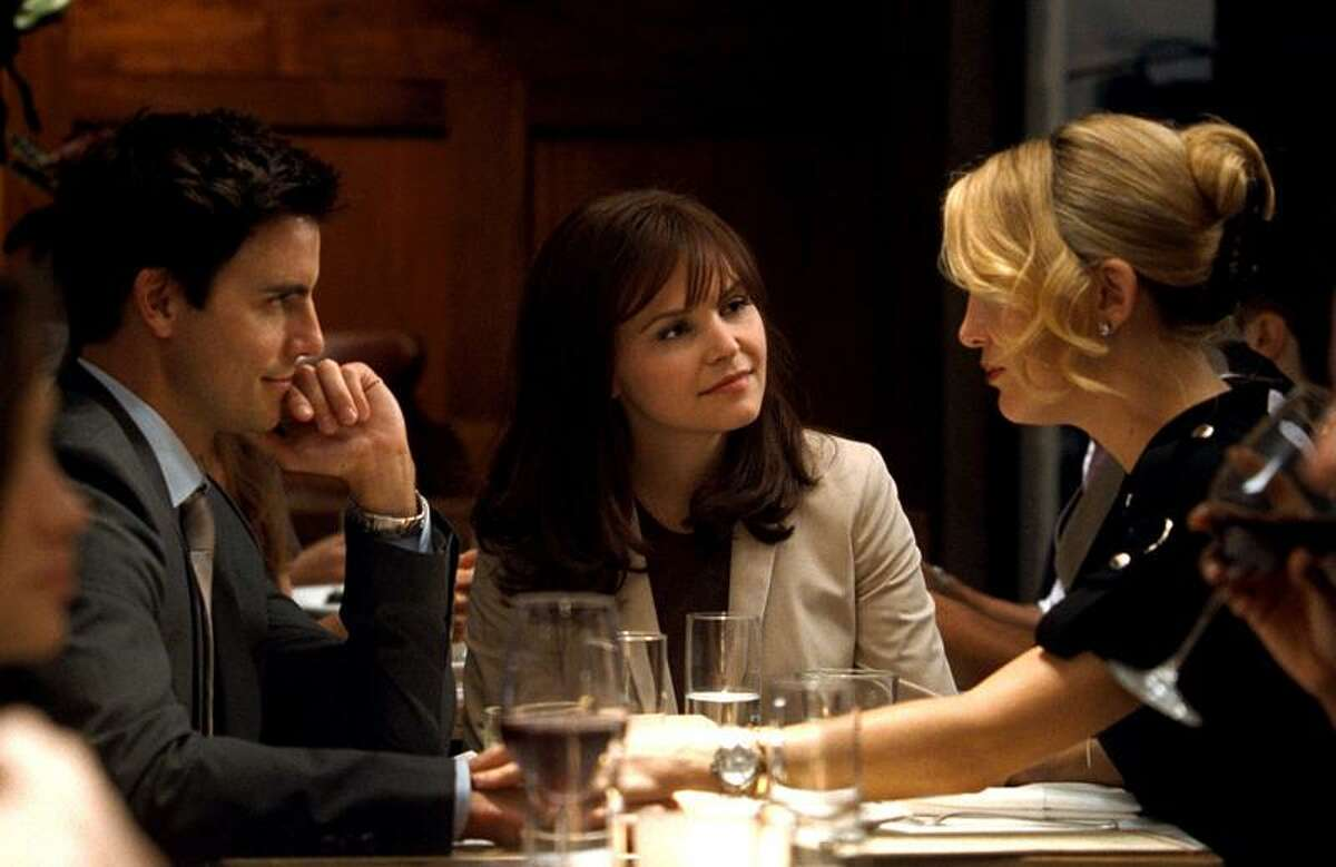 David Lee/Warner Bros.: Colin Egglesfield, left, Ginnifer Goodwin and Kate Hudson in a scene from