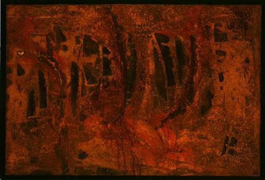 "Photo Courtesy Rome Art And Community Center ""Firepit"" by Gregg Fedchak"