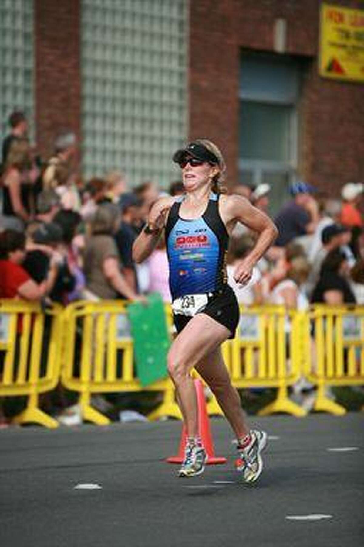 Submitted Photo MaryBeth Romagnoli of Cazenovia qualified for the Ford Ironman World Championship triathlon in Kona, Hawaii. The Canastota alum began running in seventh grade for current Raiders AD Andy Pino.