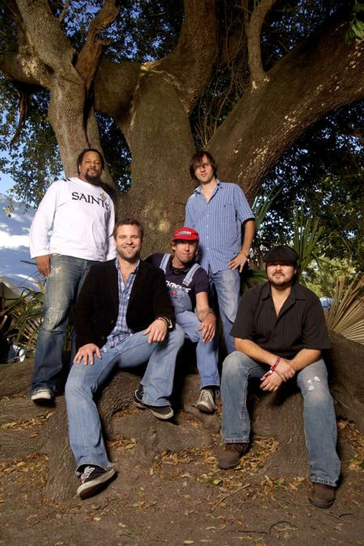 Zack Smith Photography: Honey Island Swamp Band is made up of a heady mix of various American and exotic influences -- frequently sung in four-part harmony.