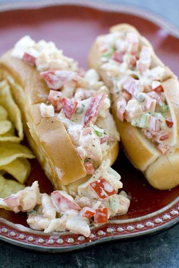 Matthew Mead/Associated Press photo: Tangy Seafood Salad Rolls Photo: AP / ap