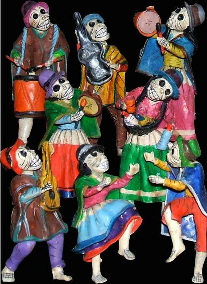 Contributed photo: Skeleton puppets and dolls are part of a Mexican tradition honoring the dead, this Saturday in Fair Haven.
