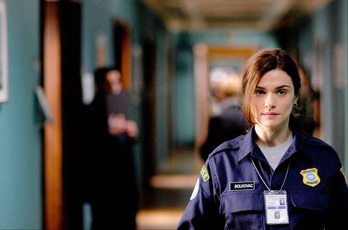"""In this image released by Samuel Goldwyn Films, Rachel Weisz portrays Kathy Bolkovac in a scene from """"The Whistleblower."""" (AP Photo/Samuel Goldwyn Films, Andrei Alexandru)"""