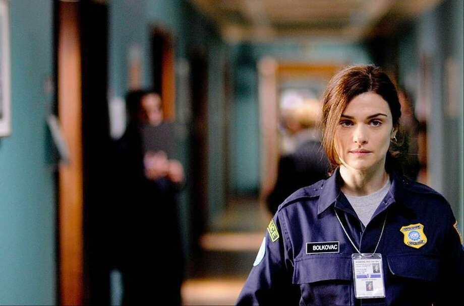 """In this image released by Samuel Goldwyn Films, Rachel Weisz portrays Kathy Bolkovac in a scene from """"The Whistleblower."""" (AP Photo/Samuel Goldwyn Films, Andrei Alexandru) Photo: AP / Andrei Alexandru"""