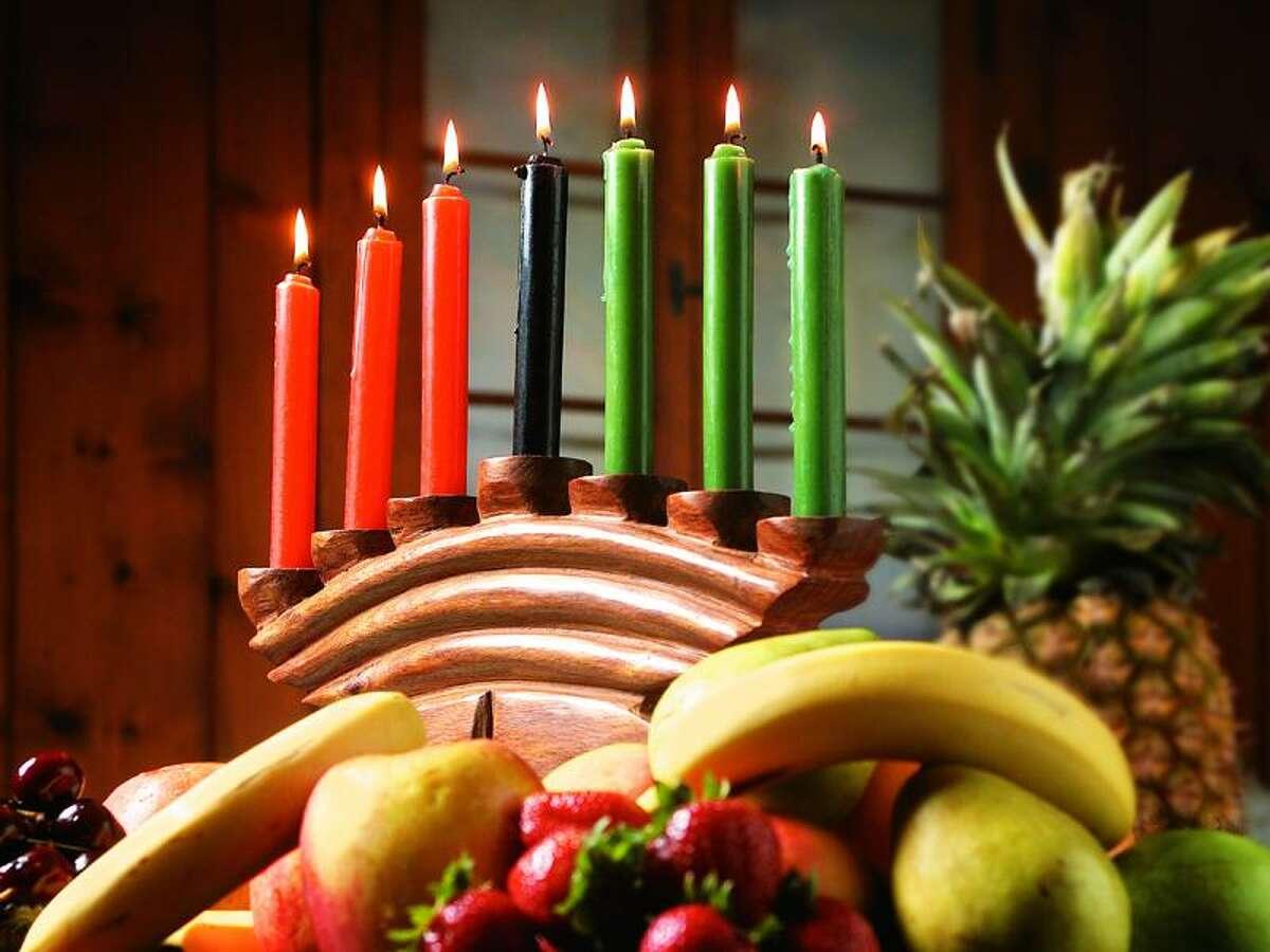 The weeklong celebration of Kwanzaa runs Dec. 26-30.