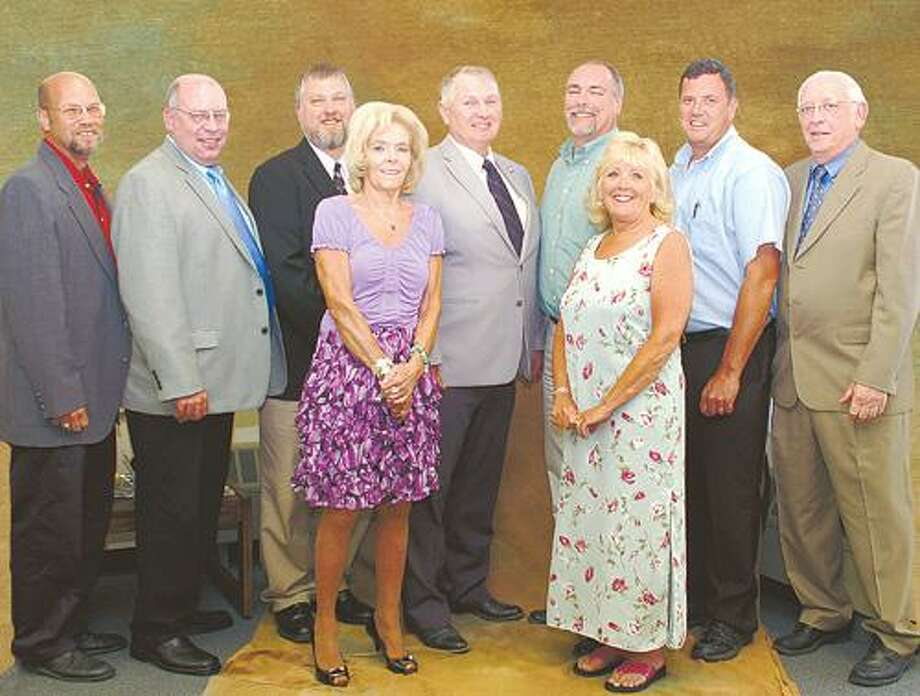 SUBMITTED PHOTO Current BOCES board members.