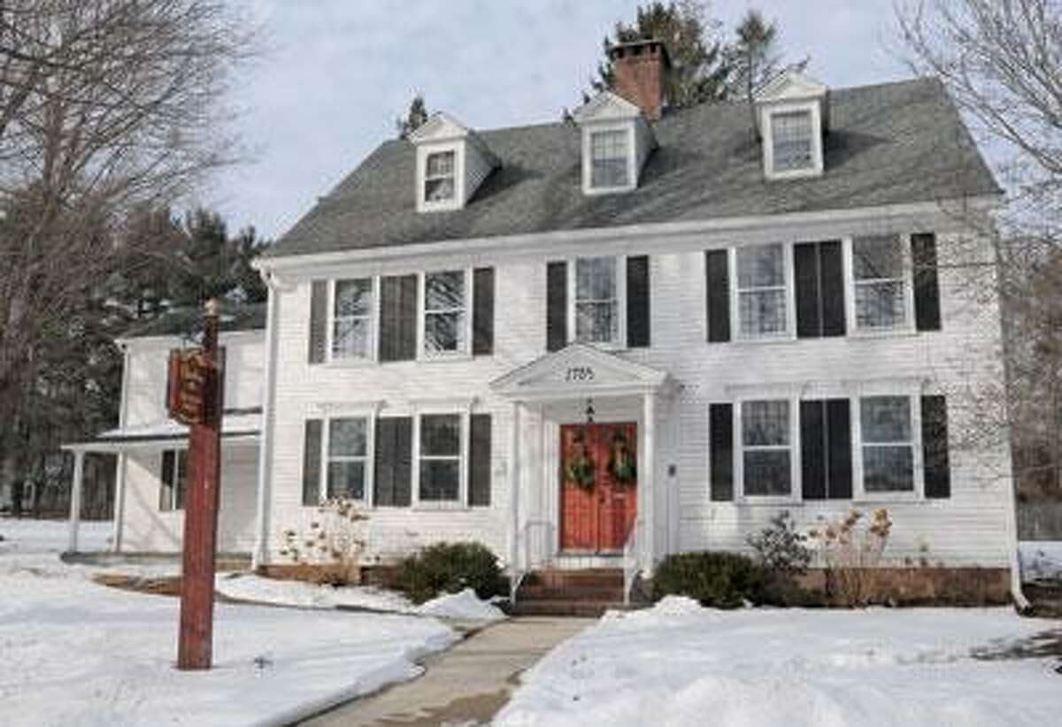 The Hitchcock-Phillips House is home to the Cheshire Historical Society. (Mara Lavitt/Register)