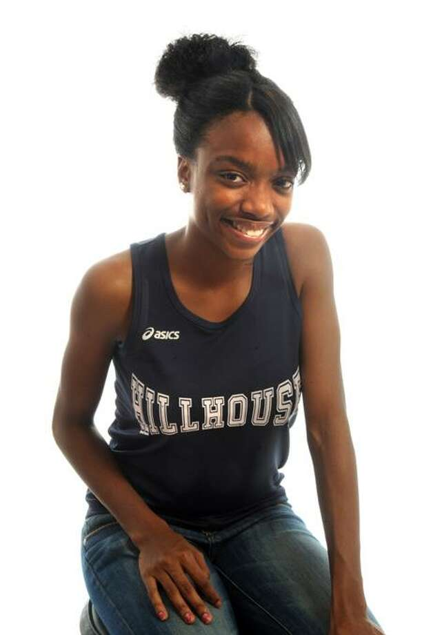 FEMALE ATHLETE OF THE WEEK: Kellie Davis, Hillhouse cross country. VM Williams/Register