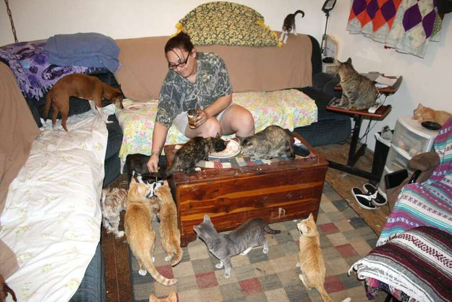 Animal Planet photo: Yolanda had a houseful of kids, but now it's filled with pets. Photo: Animal Planet / Discovery Communications Inc