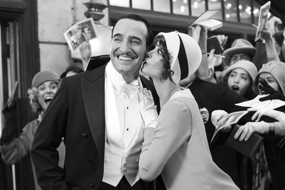 "Associated Press photo:  Jean Dujardin and Berenice Bejo star in ""The Artist,"" the silent movie hit by French director Michael Hazanavicius."