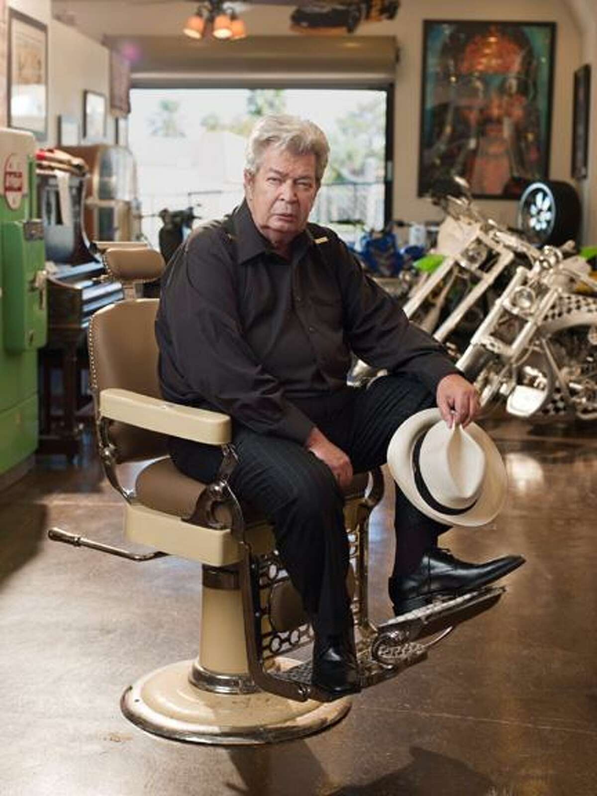 """Photo Courtesy The History Channel Richard """"Old Man"""" Harrison at the Gold and Silver Pawn Shop in Las Vegas, Nev."""