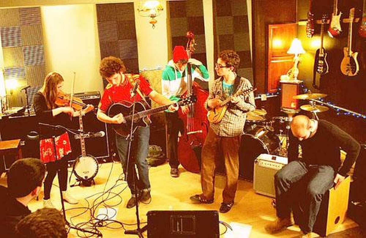 Photo from Mammal is a Mountain on Facebook.com Mammal is a Mountain members Dan Lynch, Jameson Dunham and Robert Wojcikiewicz will perform with Aaron Welcher and Billy Lynch Friday at 6 p.m. at La Vie Boheme Bistro on Madison Street in Oneida.
