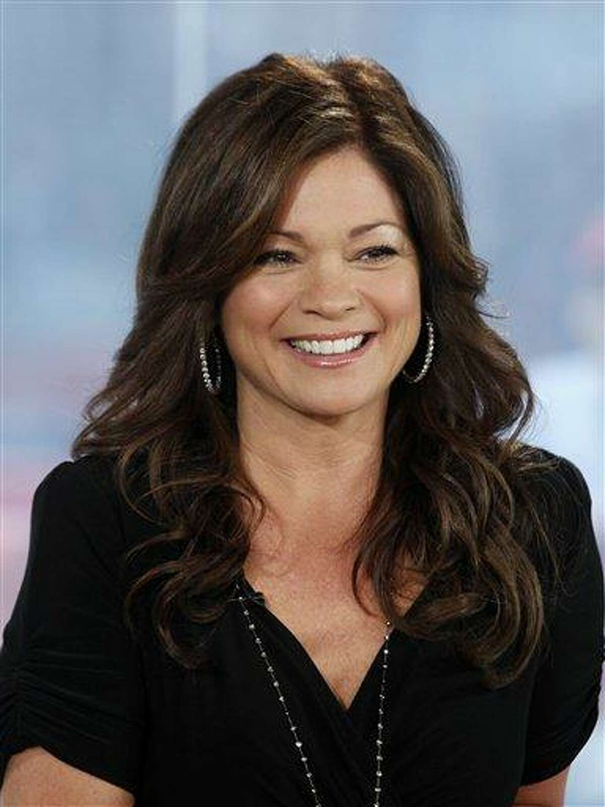 FILE - This file photo provided by NBC Universal, shows actress Valerie Bertinelli appearing on NBC's