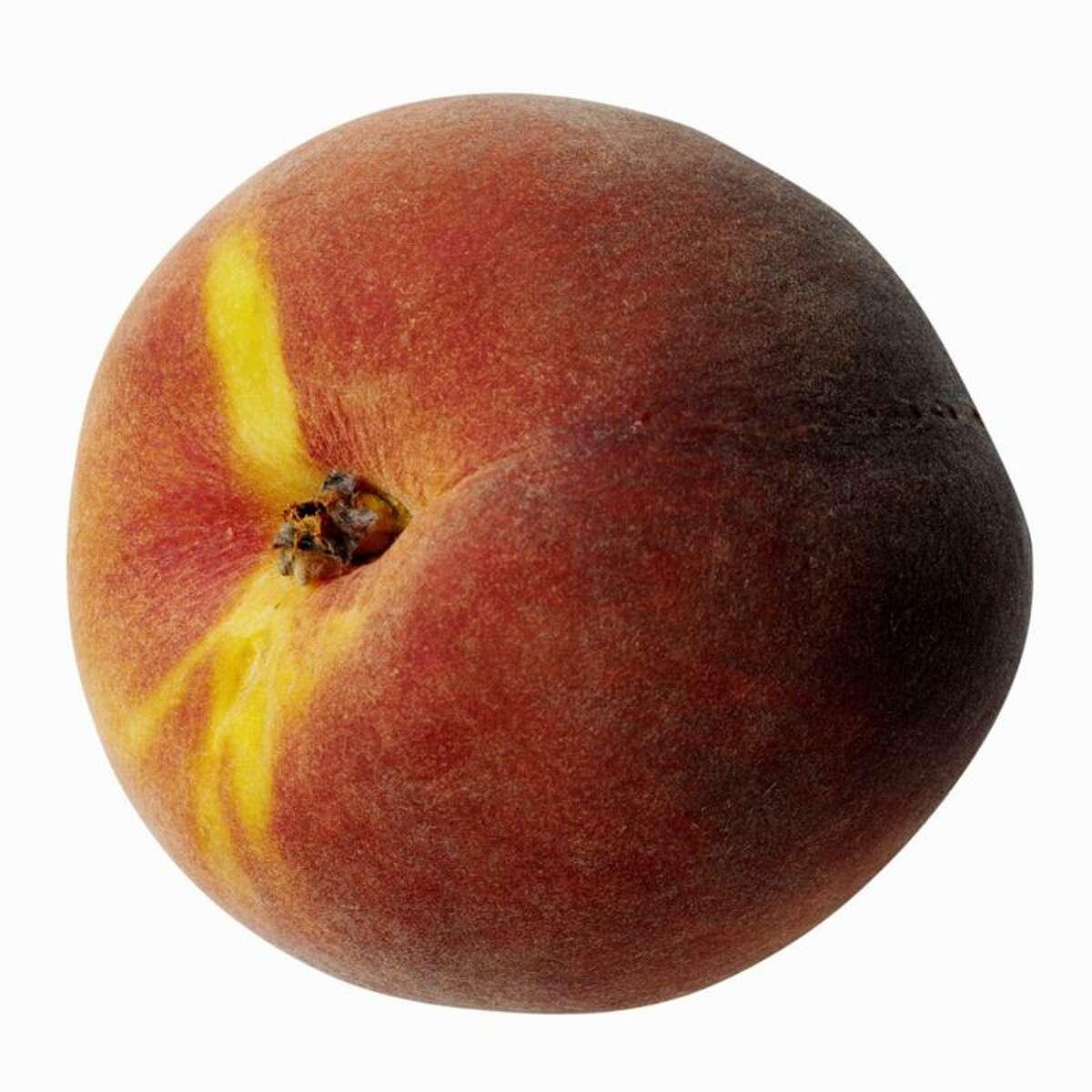 Peach perfect for Peach Melba Cobbler