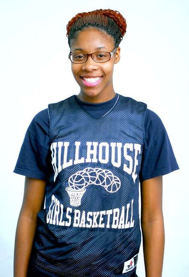 Female Athlete of the Week, Bria Holmes, Hillhouse, basketball. Photo by Arnold Gold/New Haven Register.