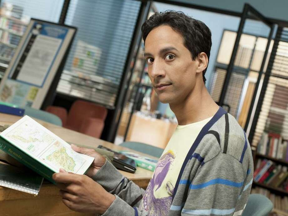 "Mitchell Haaseth/NBC photo: Danny Pudi who plays Abed Nadir credits the ""Community"" writers for his character's command of pop culture. / A(C) NBC Universal, Inc.-- FOR EDITORIAL USE ONLY -- NOT FOR RESALE -- DO NOT ARCHIVE"