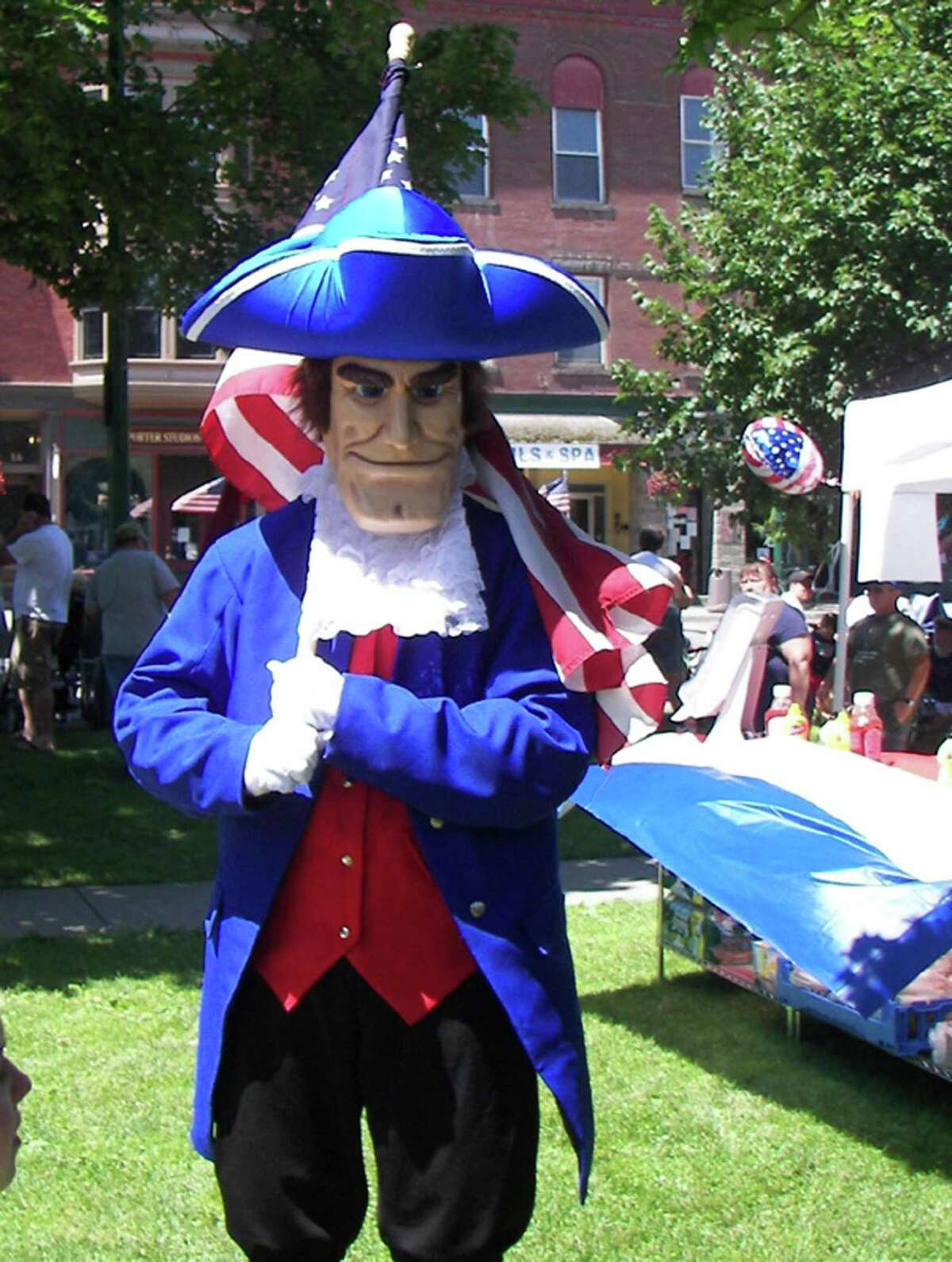 SUBMITTED PHOTO The spirit of 1776 will come alive again in Hamilton this weekend as the annual 4th of July festivities return to the village.