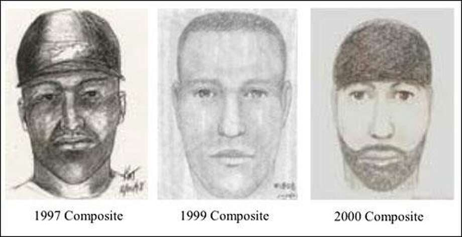 These are composite sketches of the suspect